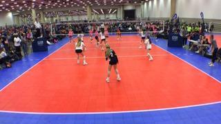 Things end all tied up between HJV 13 Elite - S (LS) and TAV Houston 13 Black (LS)