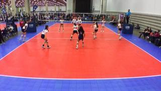 Brazos Valley 14 National (LS) wins 2-0 over United VBA 14-1 (LS)