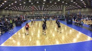 Things end all tied up between AJV 14 Cedar Park (LS) and AVA TX 14 Attack (LS)