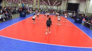 EXCEL 14 National Blue (NT) wins 2-1 over NRG VBC 14 Navy (NT)