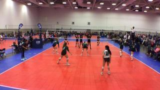 Things end all tied up between Victory 13Elite Green (NT) and Texas Titans 13 Elite (NT)
