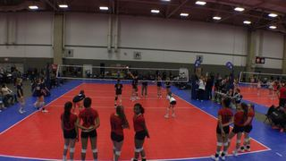 Things end all tied up between NRG VBC 13 AMPD (NT) and TIV 13 Asics Red (NT)
