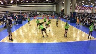 Things end all tied up between Flyers 13N-Kersye (NT) and TAV Houston 13 White (LS)