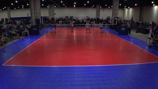 Things end all tied up between Crosscourt 14 Purple (KE) and DVA Aston 14 White (KE)