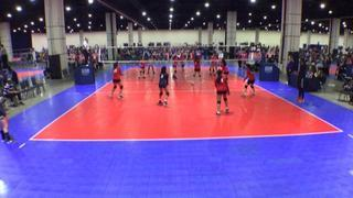 MOJO Elite 14 Fire (CH) defeats ASEVC 14 National Blue (GE), 2-0