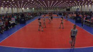 Things end all tied up between Power 13 Black (NT) and TAV Mansfield 13 Markayla (NT)