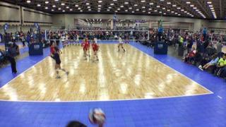 Things end all tied up between AJV 14 Grande (LS) and TEXAS FURY 14 Unite (LS)
