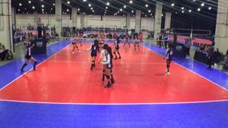 VolleyFX 14 Spell (WE) defeats BRYC 14 American (CH), 2-0