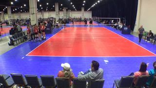 Things end all tied up between NVA 14 Black (KE) and HOV U14 National (OD)