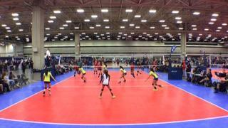 AsicsWillowbrook14Gold (LS) wins 3-0 over 915 14's Gil/Ali (SU)