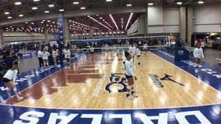 TAV 14 Black (NT) wins 3-0 over NO NAME VBC 14 DOUG (FL)