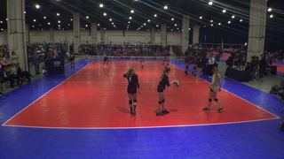 Things end all tied up between Club Integrity 14 (KE) and Rocky Select 14 Black (RM)
