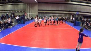 Things end all tied up between Nola Maddy 13 (BY) and TEXAS FURY 13 Unite (LS)
