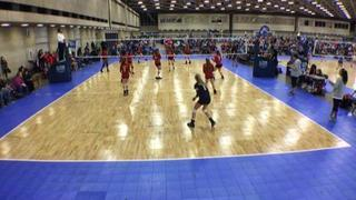 Things end all tied up between Flyers 13 Rox-David (NT) and Texas United 13Red (LS)