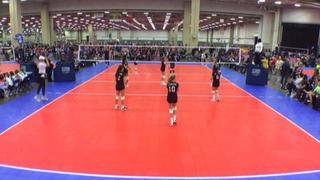 AP 12 HilCo (LS) wins 2-0 over NRG VBC 12 Blue (NT)