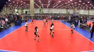 Things end all tied up between Integrity 12 Club Red (NT) and Angelo Elite 12 Black (LS)