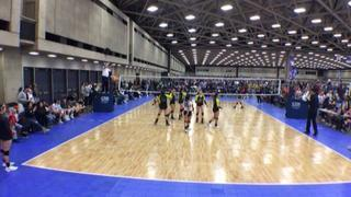 Things end all tied up between DCVA 13 Ohana (SU) and MADFROG 13'S N BLACK (NT)