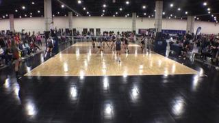 VolleyFX 14 Conjure (WE) wins 2-0 over EPAN 14 Blue (CH)