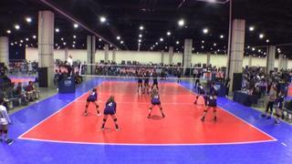 ASEVC 14 National Blue (GE) defeats SOSVBC 14-Regional (GE), 2-0