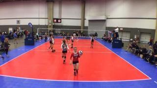 Things end all tied up between Arkansas Jrs. Storm 14-1 (DE) and Aret 14 Steel (NT)