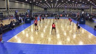 Victory 13Elite Black (NT) wins 2-0 over NRG VBC 13 AMPD (NT)