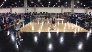 TAV Houston 14 Black (LS) defeats VolleyFX 14 Conjure (WE), 2-0