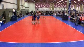 TAV 12 Black (NT) defeats Aret 12 Navy Telos (NT), 2-0
