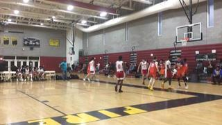 BTI Elite 2021 (Pasadena CA) getting it done in win over Gamepoint Supreme 16 (San Diego CA), 67-49