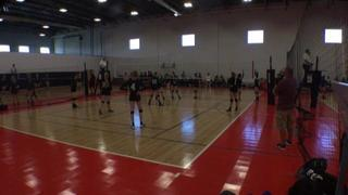 Things end all tied up between Club GSL 15 Brooke and Utah Ice 15 Amy