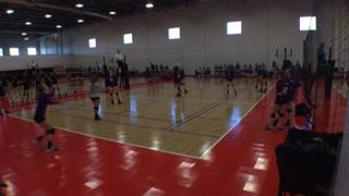 Things end all tied up between Blue Volleyball 15 and Pocatello Elite 15