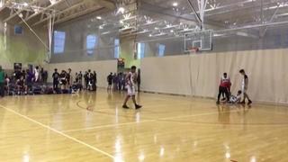 SA Hoops Elite 2020 with a win over G.A.T.A., 70-50