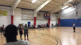 Central PA Elite (Klotzbeecher-Thomas ) puts down Lady Hoopmasters (10th) with the 40-17 victory