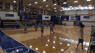 Riverside Hawks Gold vs Pure Basketball Blue