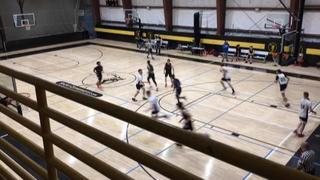 Hard Work Basketball - Blue wins 80-75 over Illinois Bears - George