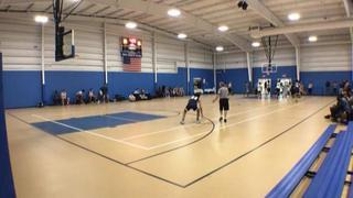 Team Fredette with a win over CT Elite - DBC, 43-42