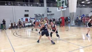 Rockets (White) getting it done in win over St. Louis Eagles (2022), 56-46