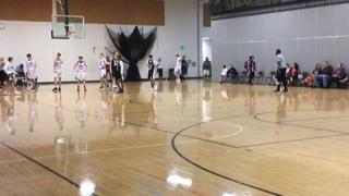 Team Jones Oregon with a win over CABC Lakers, 70-55