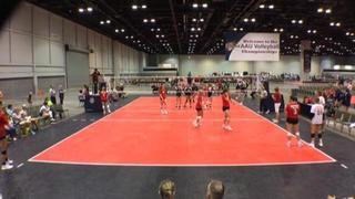Things end all tied up between Team Momentum 18 Navy and Nebraska Juniors 18 Red