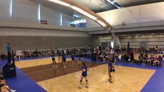 Things end all tied up between MEVC 17-1 Prevail and CPVBC U17 Grey