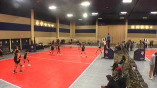 It's a wash between NW Juniors 16 UA Grey and Champions Block 16 Orange