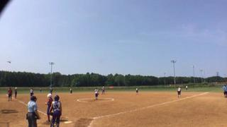 Virginia Rebels with a win over Virginia Lady Eagles, 15-2