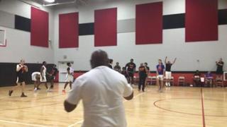 Team Knicks 63 Team Charlotte 61