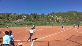 Things end all tied up between Rocky Mountain Thunder (Perry) and Stampede Fastpitch