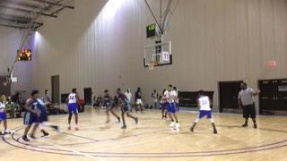 Advanced 2 Athletics All Ohio Red AOT (Chan) getting it done in win over Gwinnett Hawks, 62-37