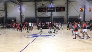 Kentucky Hoop Dreams NC B.E.S.T ACADEMY NWFL Blazers puts down Columbia Hoyas Elite Core 4 2025 CP3 with the 68-23 victory