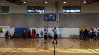 Ohio Phenoms Academy (OH) getting it done in win over Team BBC  Red (MD), 78-26