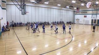 E1T1 12U defeats Midwest Magic 12u, 49-34