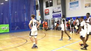 Team Spartans-Chatman (MA) gets the victory over Mass Rivals Gold - Pastore (MA), 60-58