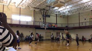 Team 3 getting it done in win over Team 4, 31-19