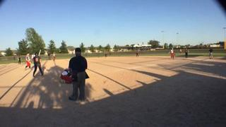 Things end all tied up between Sparks Softball and Dirt Devils Elite